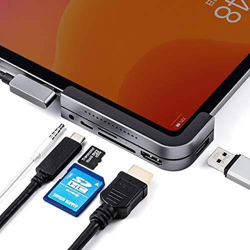 iPad Pro本体と一体化するiPad Pro 2018年モデル用USBハブ