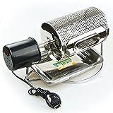 MXBAOHENGコーヒー豆ロースターelectric coffee bean roaster 100~600g コーヒー生豆焙煎器 ステンレス手動小型 手作り 家庭用110V 60HZ