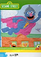 Sesame Street Super Grover Woodboard Puzzle 9 Pieces