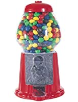 Medium Sized Eleven Inch Metal and Glass Candy Gumball Machine by CHH [並行輸入品]