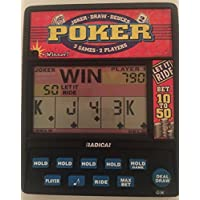 Radica 3 in 1 poker electronic hand held game [並行輸入品]