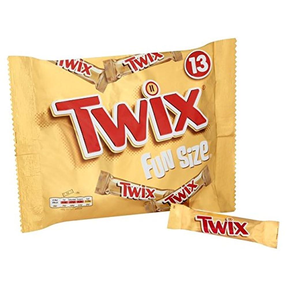 遅い言い訳拮抗するトゥウィックスのFunsizeバー13×21グラム (x 2) - Twix Funsize Bars 13 x 21g (Pack of 2) [並行輸入品]