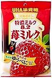 味覚糖  特濃ミルク8.2苺ミルク  84g×6袋