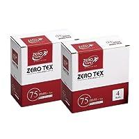 ユニコ ゼロテープ ゼロテックス キネシオロジーテープ (UNICO ZERO TEX KINESIOLOGY TAPE) 75mmx5mx4巻入り x2箱セット
