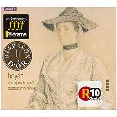 モザイク・カルテット演奏 ハイドン:弦楽四重奏曲Op.20(2枚組)の商品写真