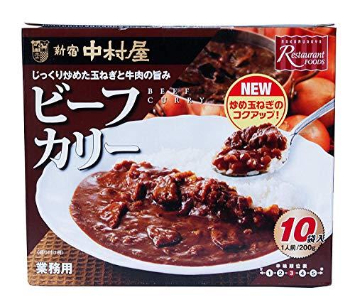 新宿中村屋 ビーフカリー 業務用 10袋