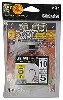 がまかつ(Gamakatsu) 真鯛吹き流し 2本仕掛 6m FF251 10-5