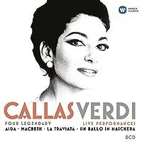 Callas/Verdi - Four legendary live performances (Aida, Macbeth, La Traviata, Un ballo in maschera) by Maria Callas
