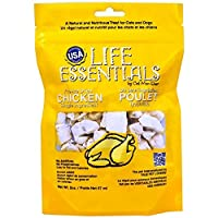 CAT-MAN-DOO Life Essentials Freeze Dried Chicken Cubes Cats Dogs Treats Food 2oz