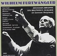 Furtwangler Condcuts Brahms Requiem by J. Brahms (2008-11-11)
