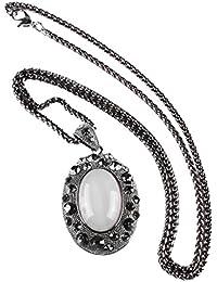 SONONIA 魅力の宝石 レトロな 水晶のペンダント 長鎖のセーターのネックレス ファッション 贈り物