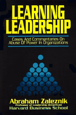 leadership cases If leadership, at its most basic, consists of getting things done through others, then persuasion is one of the leader's essential tools  this case examines the leadership challenges.