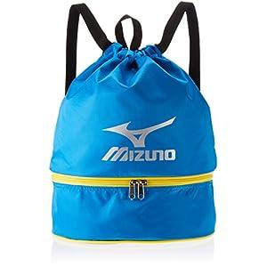 MIZUNO(ミズノ) プールバック 巾着タイプ 11L 85DK303 L27cm×W15cm×H38cm ブルー