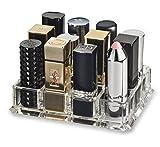 |アクリル(特大)口紅オーガナイザー(拡大口紅拠点に適合)&ビューティケアホルダーは12スペースのストレージを提供しますbyAlegory(クリア)
