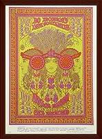 ポスター W.S. ヘンリー Family Dog Poster (Bo Diddley、 Lee Michaels) 額装品 ウッドベーシックフレーム(ブラウン)