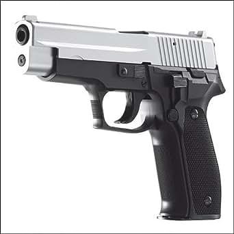SIG SAUER P226エアガンBBガン/ブラック&シルバー