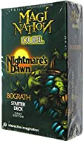 Magi Nation Duel Card Game Nightmares Dawn Bograth Theme Deck by Interactive Imagination [並行輸入品]