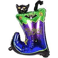 ハロウィンの装飾的なアルミ風船、コラムセットブーツ1セット おもちゃ雑貨用品 お祭り 宴会 文化祭 ブーツ