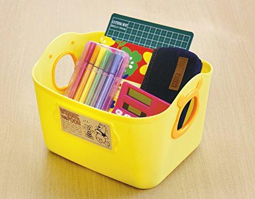 錦化成 カラーボックス くまのプーさん ミニやわらかバケツSQ5 ブラウン