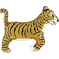 Tiger Shaped Foil Balloon By Shindigz