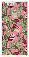 sslink honor8 Huawei ハードケース ca684-1 花柄 バラ ローズ 水彩画 スマホ ケース スマートフォン カバー カスタム ジャケット 楽天モバイル