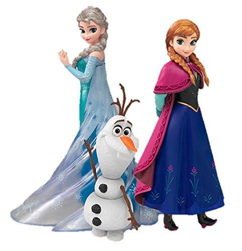 フィギュアーツZERO アナと雪の女王 Frozen Special Box 3体セット アナ 約145mm エルサ 約150mm オラフ 約80mm 専用台座シート PVC製 塗装済み完成品フィギュア