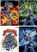 流星のロックマン ドラゴン レオ ペガサス DS 特典 『特製 クリアファイル(4種セット)』【特典のみ】