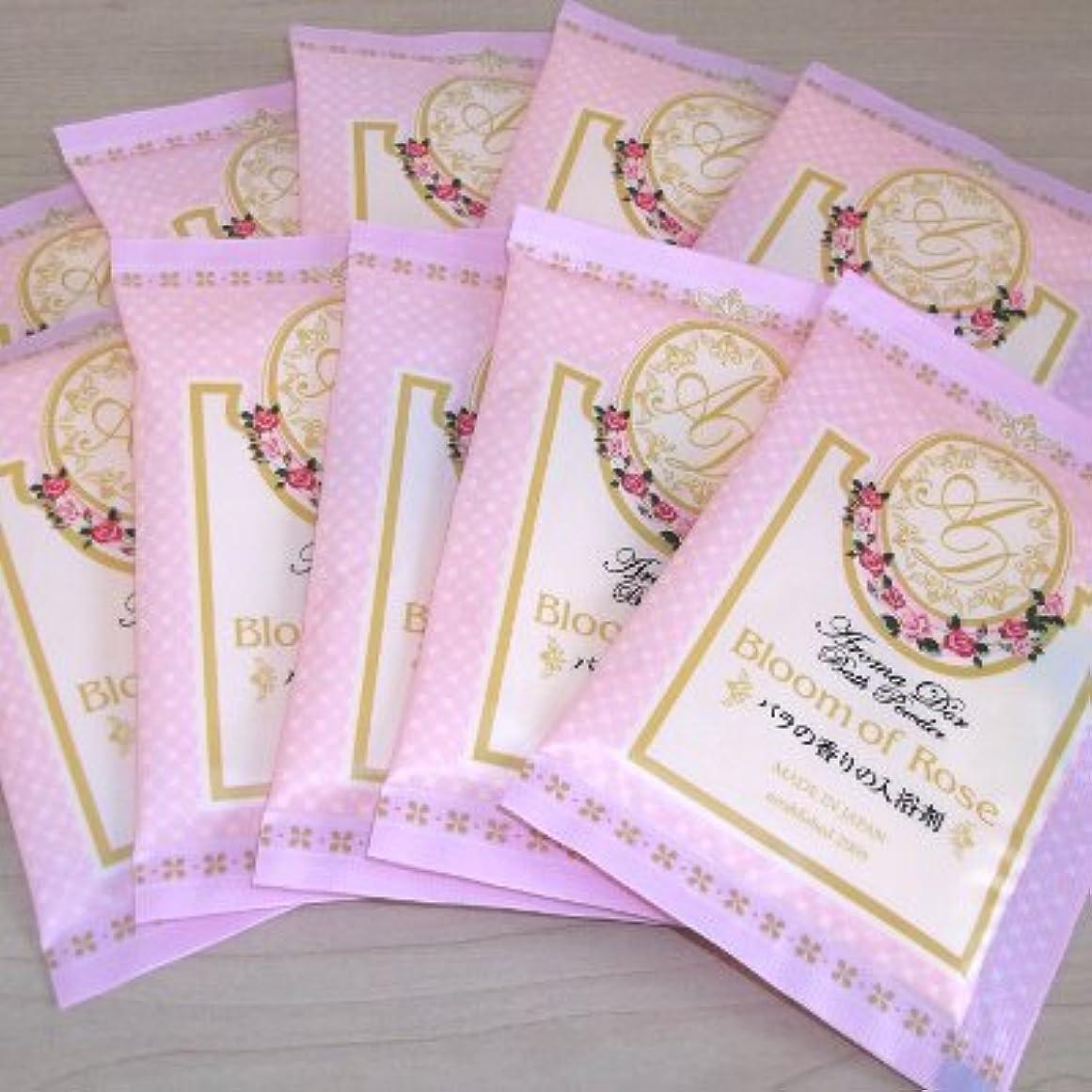 実行する台風焦げアロマドール バラの香り 10包セット