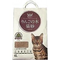 ウミダスジャパン りんごの木 高級猫砂 天然の木使用 6L