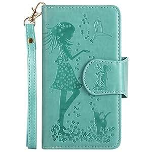 iPhone 6 ケース 対応 本革 レザー手帳型スマホケース カバー 財布型 機能 耐摩擦 耐汚れ カードポケット 全面保護 人気