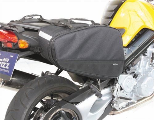 タナックス(TANAX) マルチフィットサイドバッグL モトフィズ(MOTOFIZZ) ブラック MFK-187(可変容量38-56ℓ)