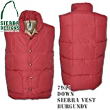 Down Sierra Vest 7981: Burgundy