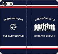 iPhone/Xperia/Galaxy/他機種選択可:サッカー手帳ケース(チャンピオン/品番:FR_01) 全機種対応用【Sサイズ】