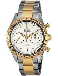 [オメガ]OMEGA 腕時計 スピードマスター ホワイト文字盤 コーアクシャル自動巻 331.20.42.51.02.001 メンズ 【並行輸入品】