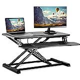 スタンディングデスク 昇降デスク スタンドアップデスク リフトアップデスク 無段階座位・立位両用昇降オフィスワークテーブル 高さ調整 SJZ-03 ACCURTEK