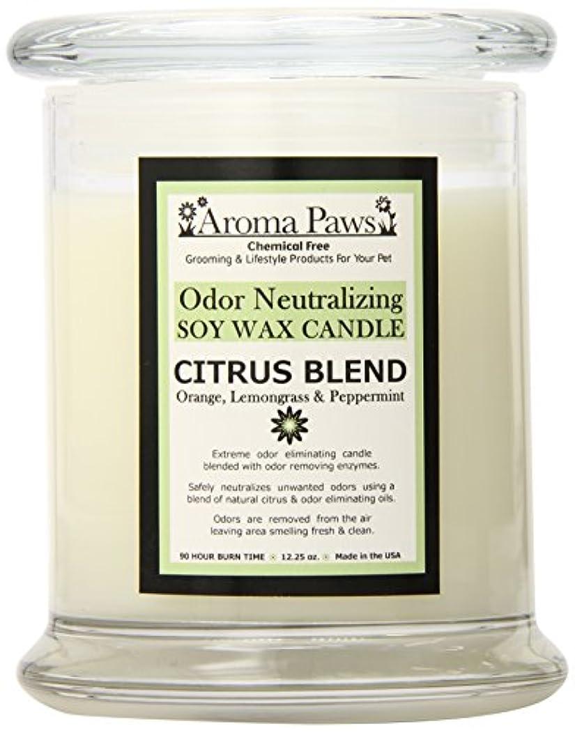 名前を作る見える獣Aroma Paws Odor Candle, 12-Ounce, Citrus by Aroma Paws