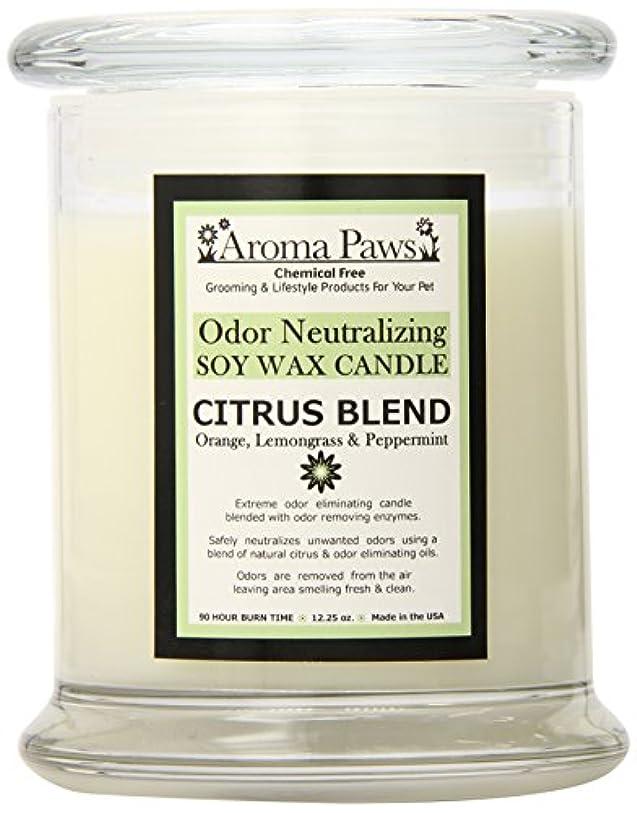 裁判官植生撤退Aroma Paws Odor Candle, 12-Ounce, Citrus by Aroma Paws