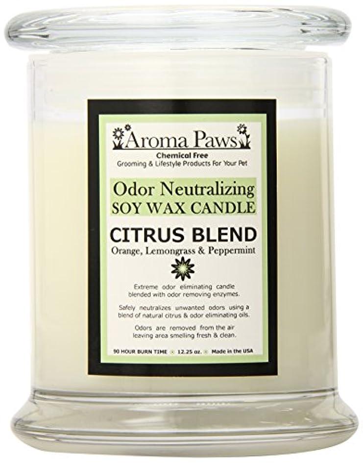 ウナギ化学薬品そしてAroma Paws Odor Candle, 12-Ounce, Citrus by Aroma Paws