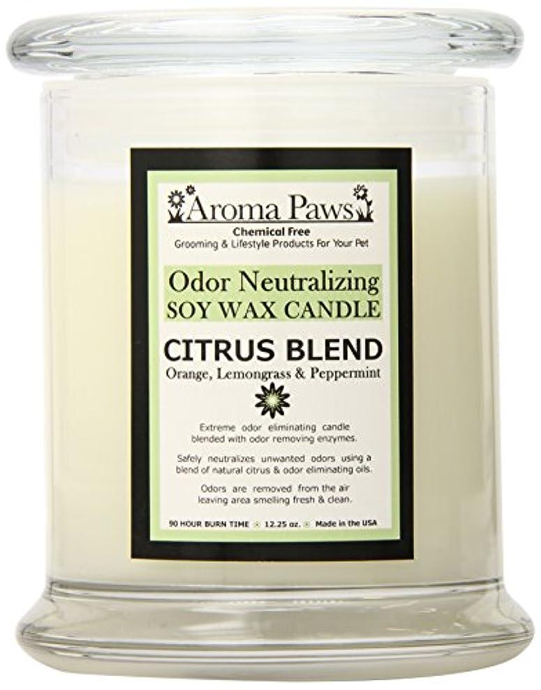 想定する多様な作業Aroma Paws Odor Candle, 12-Ounce, Citrus by Aroma Paws