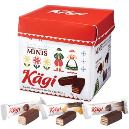 カーギ (Kagi) パーティーBOX チョコ ウエハース 1箱【スイス 海外土産 輸入食品 スナック】