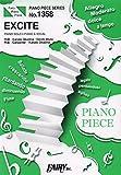 ピアノピースPP1358 EXCITE / 三浦大知  (ピアノソロ・ピアノ&ヴォーカル)~『仮面ライダーエグゼイド』テレビ主題歌