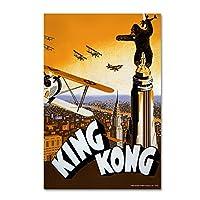 商標Fine Art King Kong 6byランタン押し 16x24 ALI9422-C1624GG