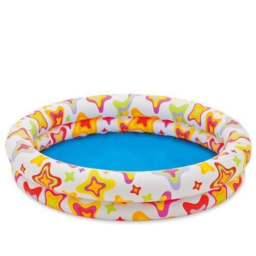 Intex 59421NP - 48 X 10 Inflatable Circles Kiddie Pool by Intex [並行輸入品]