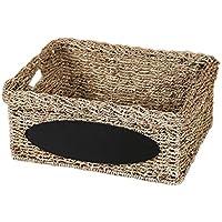 Fenteer 収納用 ボックス ランドリー おもちゃ スナック ブック ストレージ バスケット 全2サイズ選べる  - 小