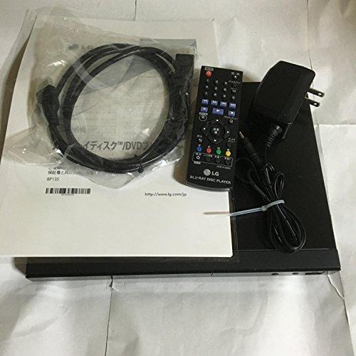LG Electronics Japan ブルーレイDVDプレーヤー ブラック BP135