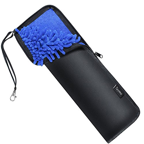 Teyimo 超吸水マイクロファイバー折りたたみ傘カバー 携帯便利 傘ケース(36cm)