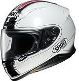 ショウエイ(SHOEI) バイクヘルメット フルフェイス Z-7 FLAGGER(フラッガー) TC-6(WHITE/RED) M (頭囲 57cm)