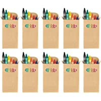 eBuyGB Colouringワックスクレヨン – キッズパーティーバッグ/ Loot ToyウェディングFavour 100 1232599-100