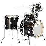 Pearl パール MIDTOWN ドラムシェルパック #701(ブラックゴールドスパークル) MDT764P/C  #701 (Black Gold Sparkle)