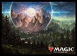 マジック:ザ・ギャザリング プレイヤーズカードスリーブ 『基本セット2019』 《高山の月》 (MTGS-047)
